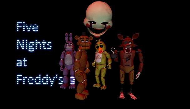 Five Nights at Freddys 3 Fan Game