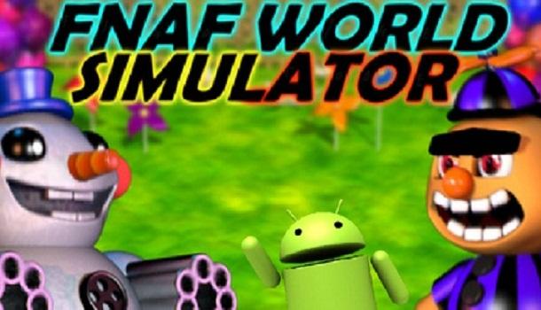 Fnaf World Simulator Demo 2 - Five Nights Freddy's com
