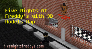 Fnaf Minecraft with 3D Models Map