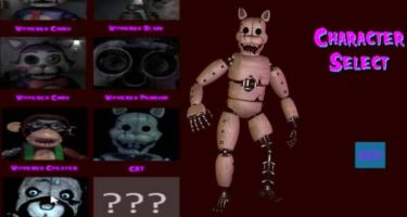 Five Nights at Candy's 2 Playable Animatronics REMASTERED thumb